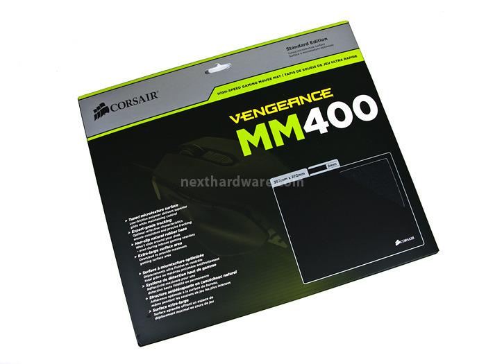 Corsair Vengeance M65 & MM400 1. Packaging e Bundle 5