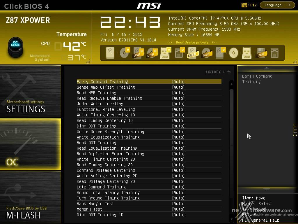Msi z87 xpower 9 msi click bios 4 overclock recensione for Recensioni h2o power x