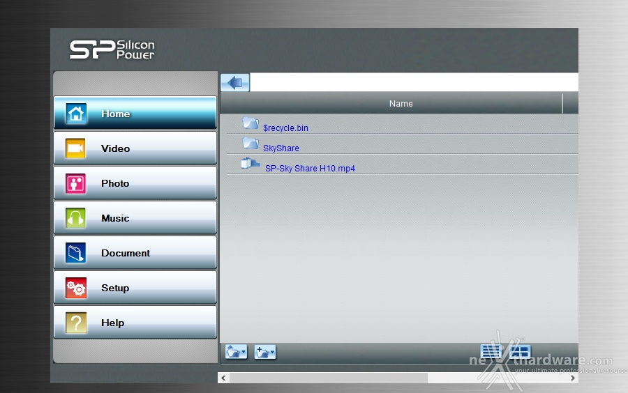 Silicon power skyshare h10 4 software di gestione for Recensioni di software planimetrie