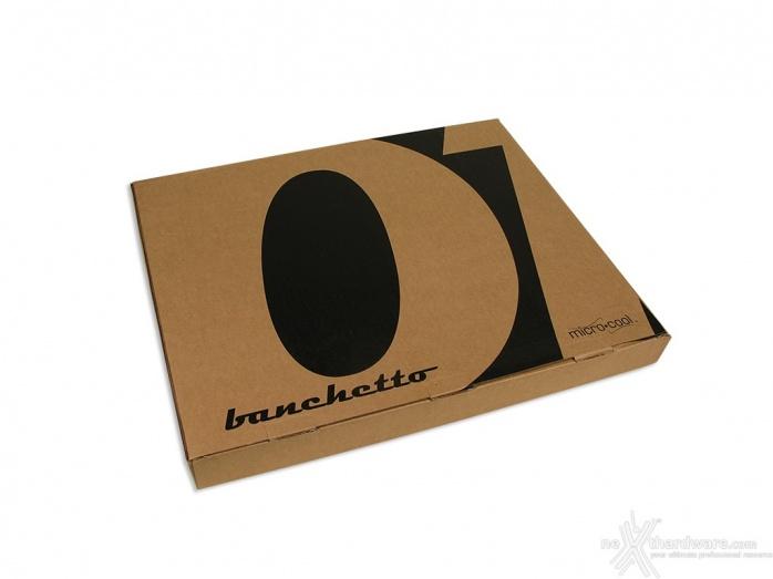 Microcool Banchetto 101 Rev. 3 Acrylic Black 1. Unboxing 1