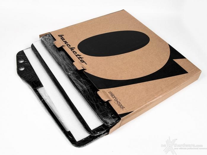 Microcool Banchetto 101 Rev. 3 Acrylic Black 1. Unboxing 2