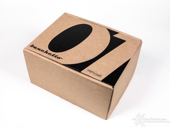 Microcool Banchetto 101 Rev. 3 Acrylic Black 1. Unboxing 3