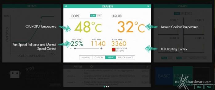 NZXT Kraken X41 & X61 6. Software di gestione - NZXT CAM - Parte seconda 2