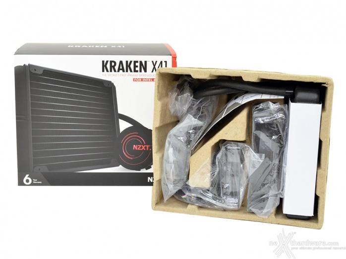 NZXT Kraken X41 & X61 1. Confezione e bundle 3