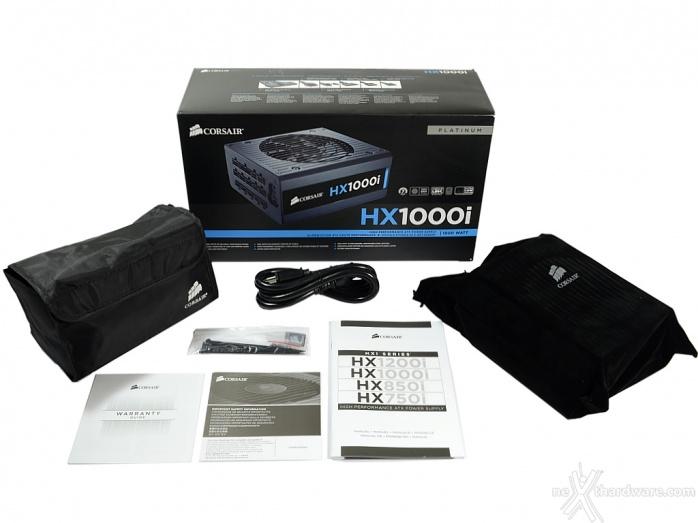 Corsair HX1000i | 1. Confezione & Specifiche Tecniche ...