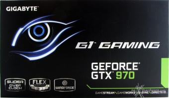 GIGABYTE GTX 970 G1 Gaming 3. Vista da Vicino 1