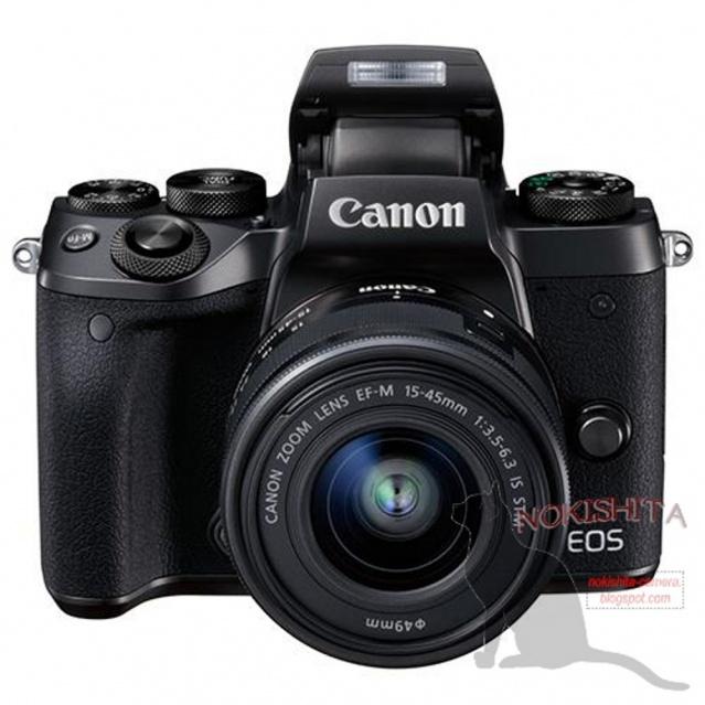 Nuove immagini e presunte specifiche per la EOS M5 1
