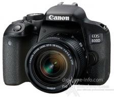 Canon EOS 77D ed EOS 800D, prime immagini e specifiche parziali 7