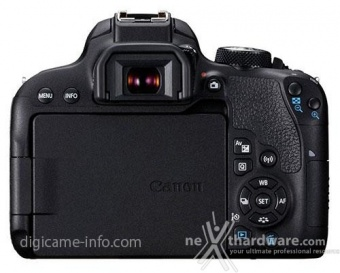 Canon EOS 77D ed EOS 800D, prime immagini e specifiche parziali 9