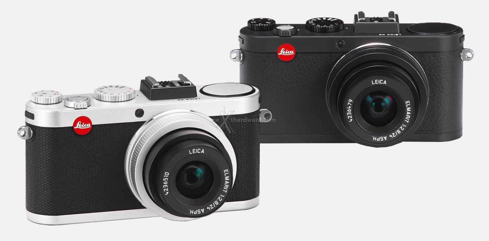 Leica x2, 16mpixel aps-c ed obiettivo 36mm f2,8