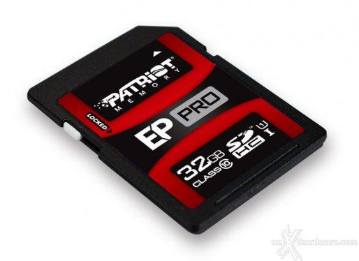Test Patriot SDHC EP Pro 32GB Class 10 1